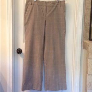Gray Wide Leg Dress Pants
